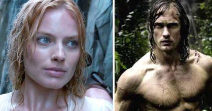 新的電影《泰山傳奇》傳出女主角瑪格羅比因為床戲太過猛烈,結果不小心讓男主角受傷了...
