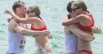 泰勒斯跟湯姆希德斯頓又被拍到在海邊甜蜜放閃,一看到湯姆的衣服後網友就提出6大證據指出「這是場精心商業騙局」!