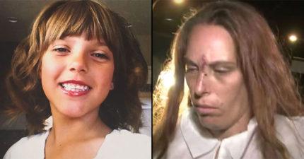母親男友為了幫小女孩慶祝10歲生日把她「藥物迷姦後慘遭分屍燒死」,她的母親從頭到尾都在旁邊觀看...