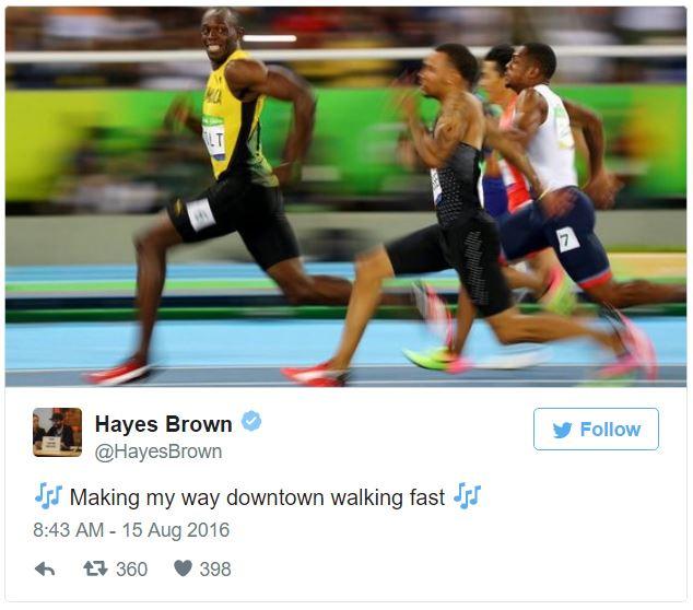 世界上跑最快的男人「閃電波爾特」到底有多快?這張照片「他的表情」會讓你發現其他對手自殺率會開始標高!