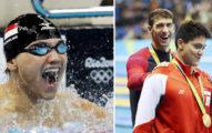 菲爾普斯輸了!奪下奧運22金牌的「傳奇飛魚」竟然輸給了「他」!