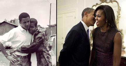 我原本覺得第一夫婦感情好都是裝的,但看歐巴馬跟蜜雪兒「31張從1992年相識到現在」恩愛進化照就不得不相信了!