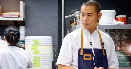 新加坡這間「全球前50大餐廳」主廚來自台灣,他說出三點理由坦言:「我的廚房沒有台灣人!」