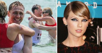 知情人士爆料「湯姆希德斯頓開始受不了泰勒絲了」...看看他上次在海灘上穿的衣服就知道了...