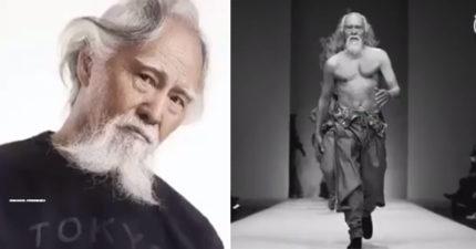 這位史上最帥氣爺爺「79歲走上時裝伸展台」感動百萬人,他說他為了這一刻「準備了60年」!