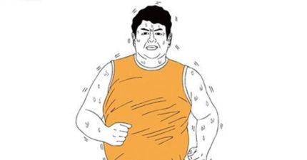 這個肥宅為了變小鮮肉每天下午都跑步1小時,1個月後的結果連小鮮肉看到他都會嚇哭!