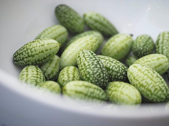 這就是跟葡萄大小差不多的「拇指西瓜」,但切開來「看到裡面」你才會知道真的對它誤會太深了!