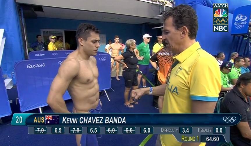 25張照片再次證明了「電視上那一槓」把今年奧運「變成了肉慾橫流的大眾色色片」。(上班時間慎入)