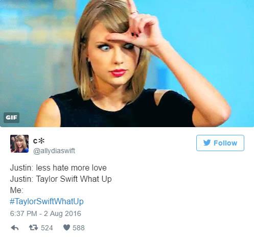泰勒絲跟肯伊 卡黛珊的恩怨原本快要平息,但小賈斯汀的「直接嗆泰勒絲貼文」竟完全掀起了新的戰火!