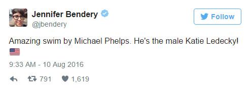 菲爾普斯的宿命對手克洛斯之前還敢挑釁,昨天他輸給菲爾普斯時的「我完蛋了」打臉表情真讓人太過癮了!