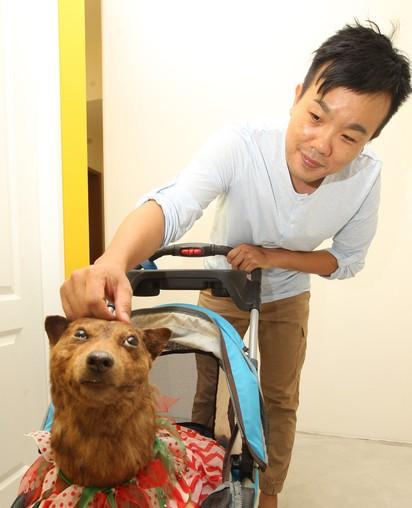 大家剛開始看到這隻狗狗還覺得很乖巧,但當主人叫他「他卻一動也不動」時你才會看見最悲痛的真相...