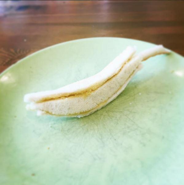 超狂爸爸為讓女兒開心吃早餐天天打造「爆驚奇手工吐司雕塑品」!看到第2張我已經想問他收不收乾女兒了!(35張)