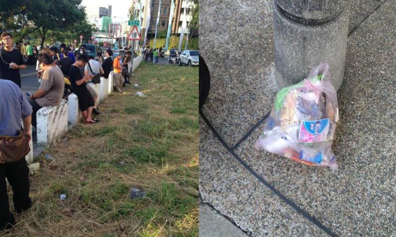 網友玩《Pokémon Go》把公園變成垃圾山!好在這時「火箭隊」就出現解救大家!