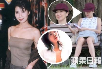 昔日香港三級片艷星關秀媚被拍到公園約會!素顏崩壞臉蛋被網友毒舌狠酸「歲月不饒人」!