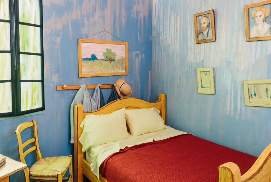 這不是一張畫!300塊台幣就能入住梵谷的真實版《在亞爾的臥室》!近看到超完美細節要我住1個月我都願意啊!