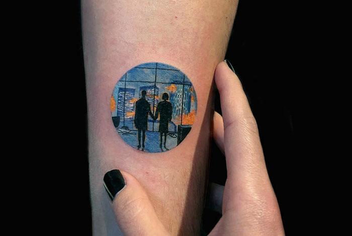 38张会让你爷爷奶奶都喜欢的「完美圆圈」奇幻刺青