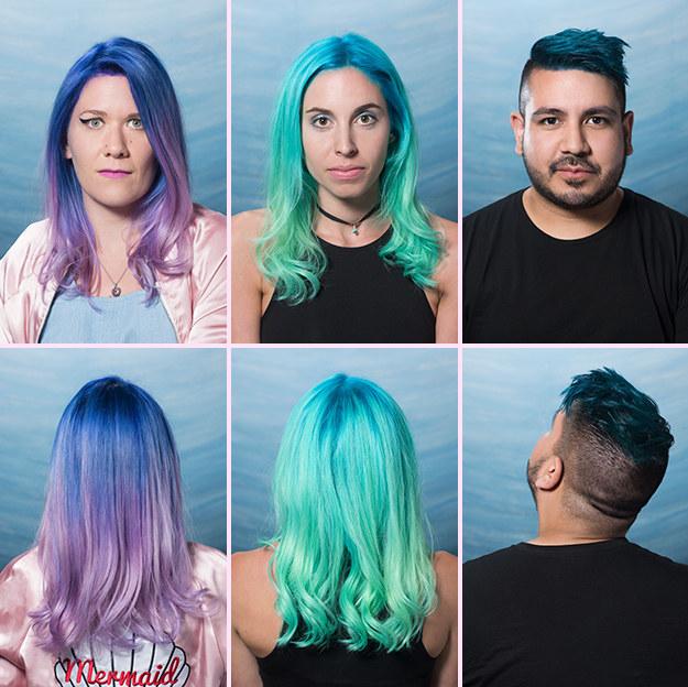 只要「簡單3個步驟」,就能讓妳完美擁有今夏最流行的「浪漫美人魚炫彩秀髮」!