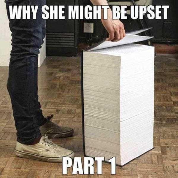 19個「女生超不合邏輯行為」證明男生就算看1000本書也無法理解女生!