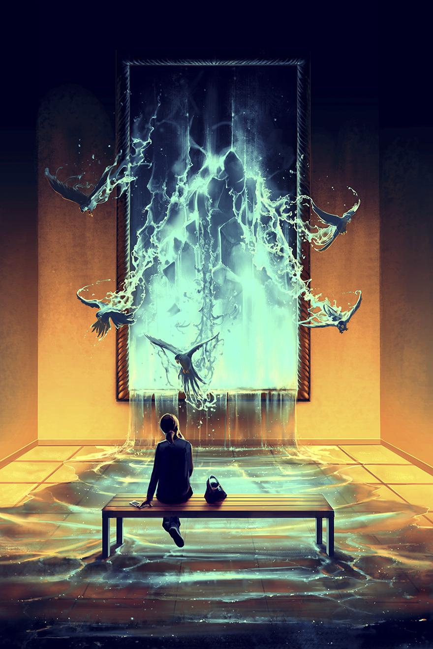 40張讓你「感受到人性複雜和生活黑暗」的暗示性畫作