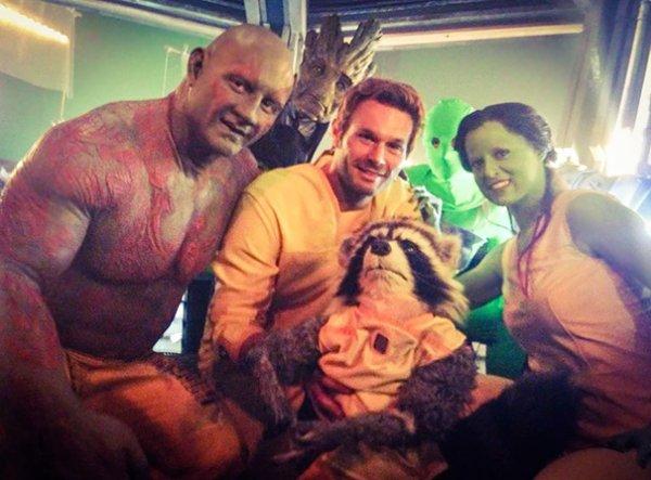 Guardians Of The Galaxy Stunt Doubles  H/T Boredpanda