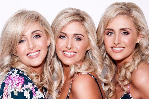 「史上最性感三胞胎連三圍都一樣」過著一模一樣的模特兒生活,小時候一起拍的照片萌炸了!