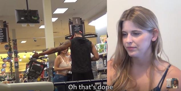 女友請了另一名火辣女子測試男友的忠誠度,當辣妹問男友「「你剛剛在看我的屁股嗎?!」時...