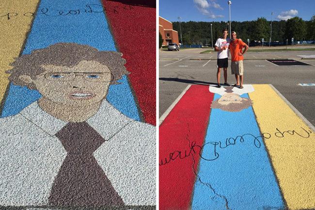 22個美國高中生發揮創意「彩繪自己專屬的停車格」,台灣學校跟著這樣做才能激出學生創意!(#14遲到的下場)