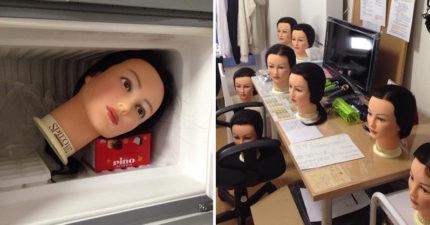 走進了美容科學生的房間以後才發現,原來他們除了美容之外還要學「靈異學」...