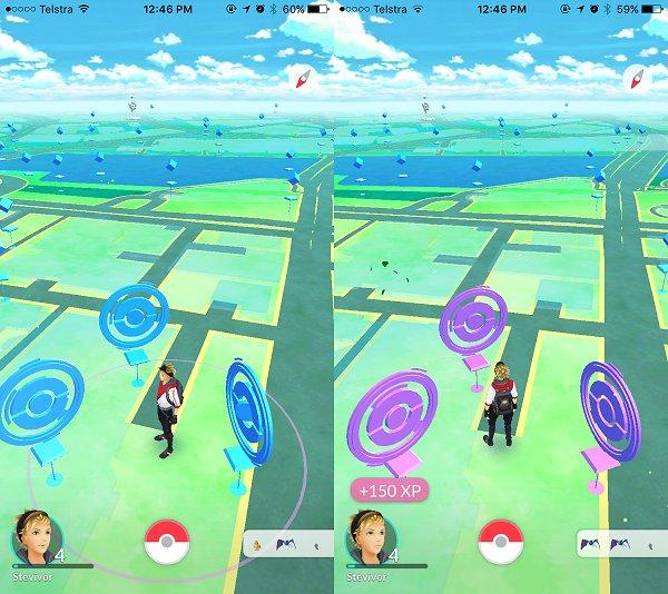 Pokemon Go玩家發現只要在這段時間內,連續去幾個補給站就能拿到更多經驗跟物品喔!