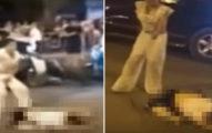 (有影片)神婆駕車撞斷無辜的路人,下車後竟然開始「對著屍體跳舞」跟大喊...