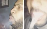 男子在抽煙後開始咳嗽,結果竟然咳出肺!讓人看了就不得不戒煙了...