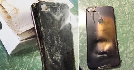 沒有錯,現在連iPhone 7也爆炸了!而且爆炸原因還比三星的電池問題更離譜!