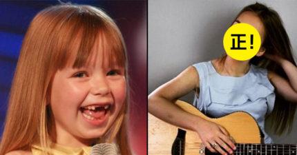 5個那些年在選秀節目中征服我們的童星們都已經長大了,「天使笑容小康妮」長大的模樣也太正了!