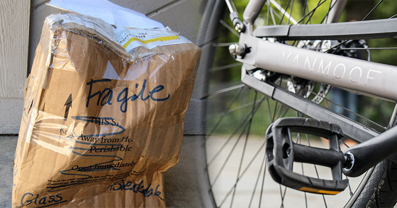 自行車廠商為減少運送損耗率 決定每件包裝都「附贈」一台電視!