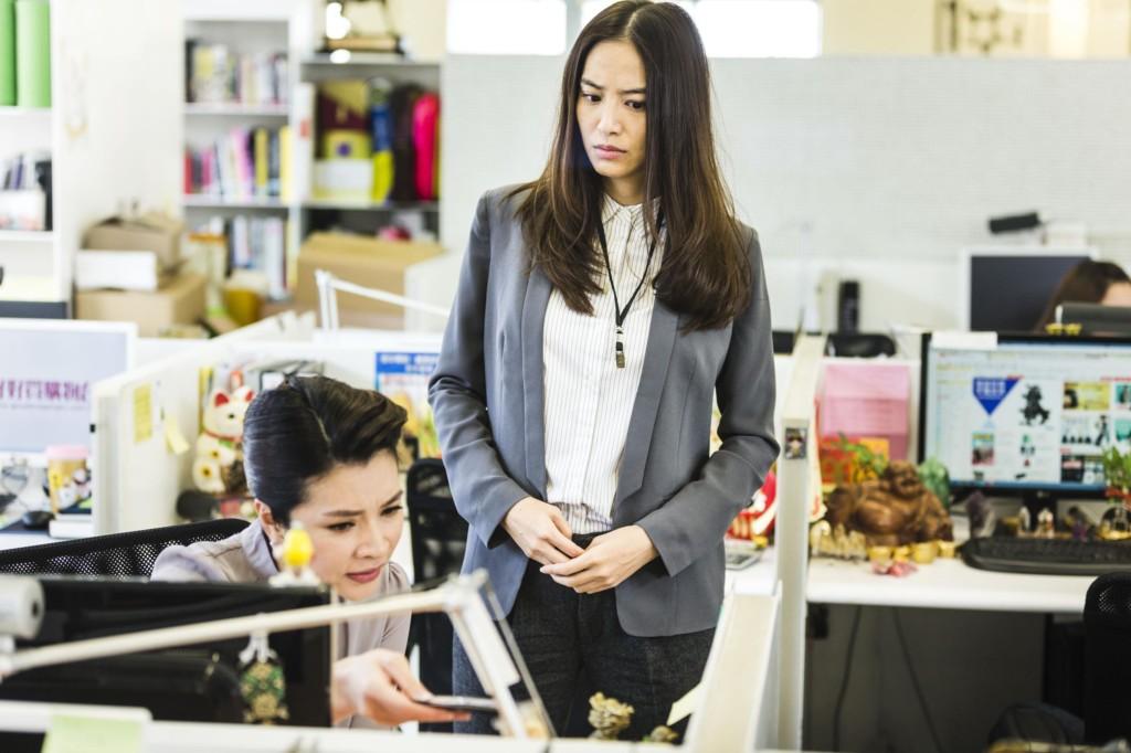 白歆惠電影《銷售奇姬》拍戲時就已經「懷孕5個月應該肚子很明顯」,她是怎麼瞞天過海的?!(11張讓你猜)