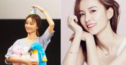 《屍速》最美孕婦「鄭有美」清新脫俗的氣質被譽為「小李英愛」,沒想到跟孔劉才是最登對的!