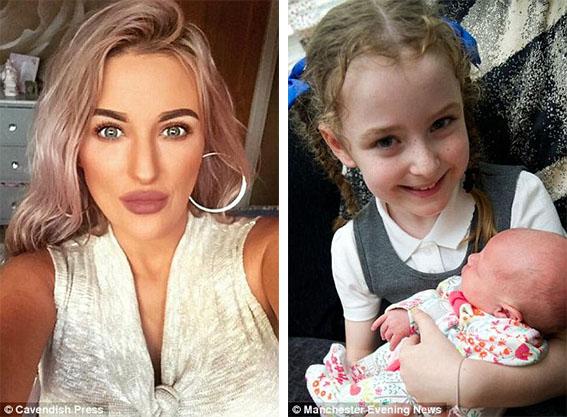 她只是帶5天大的女兒去逛賣場,63歲男子突然衝上去狠揍寶寶的臉「因為是洋娃娃」...