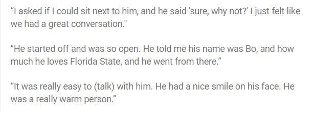 自閉症男孩每天獨自吃飯,但有天「明星球員主動帶頭陪他吃飯」!教練讚:這才是用名氣的方法。
