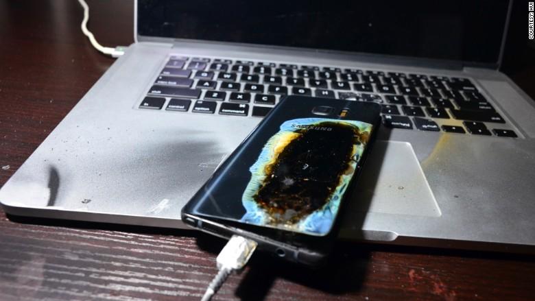 就連換成新的「安全版」的三星Galaxy Note 7再度傳出爆炸事件,而且這次還殃及無辜...