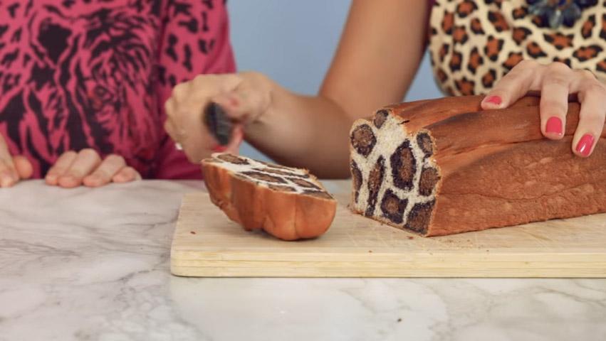 她揉出三種麵團時我還以為成品會很遜,但最後烤出的成品根本是「麵包界的林志玲」!