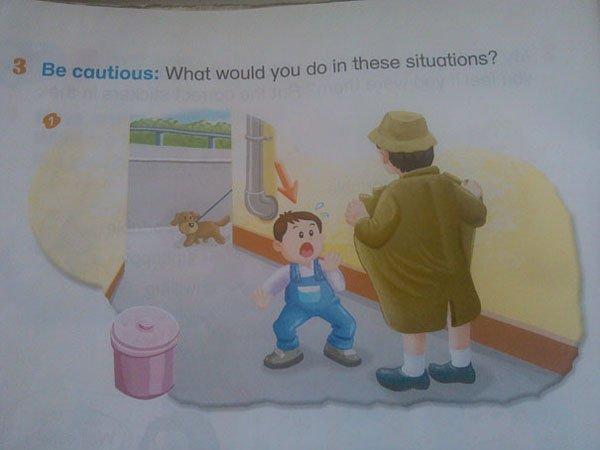 25個超不OK小朋友課本內容「證明現在教育已經快把孩子都搞瘋了」,#25其實超正確的呀!