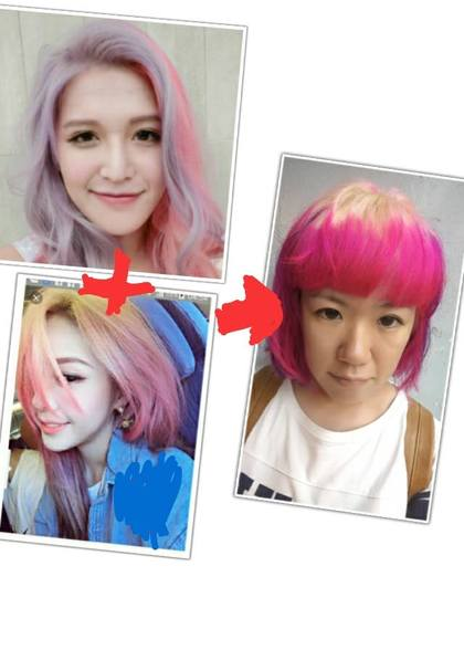 網友花了5400元想把頭髮染成超炫韓系漸層髮,沒想到竟變成了「鐵獅玉玲瓏」...