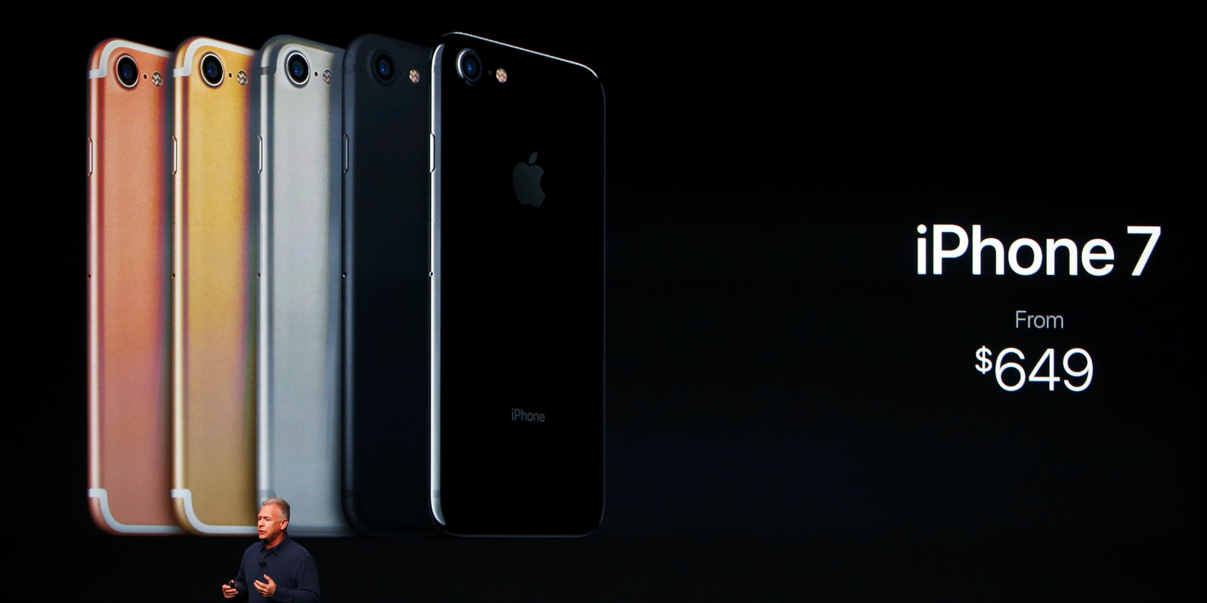 Apple iPhone 7 colors