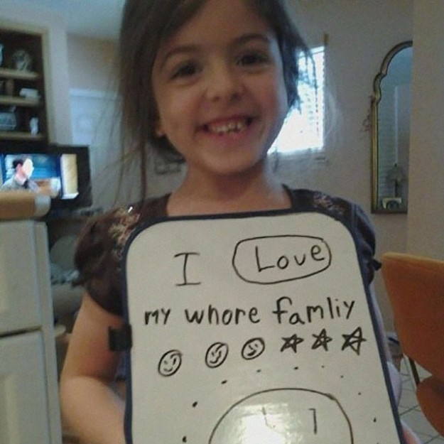 This mom who was great at helping her daughter spell.