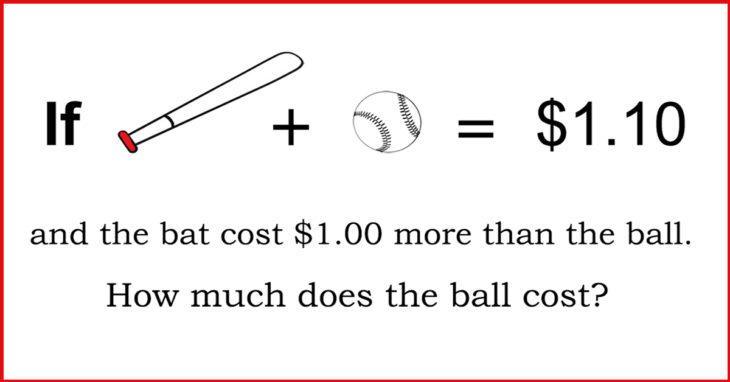 這個簡單的數學題竟然「騙倒50%以上的哈佛學生」,你能答對嗎?