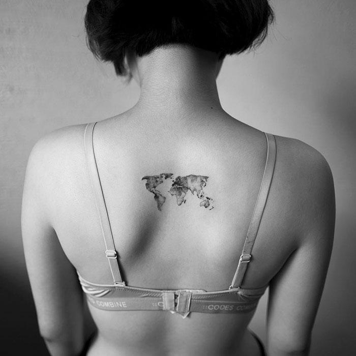 30張「讓你變身小仙女」的超迷你刺青 她手上有「與寵物擊掌」的珍貴瞬間!