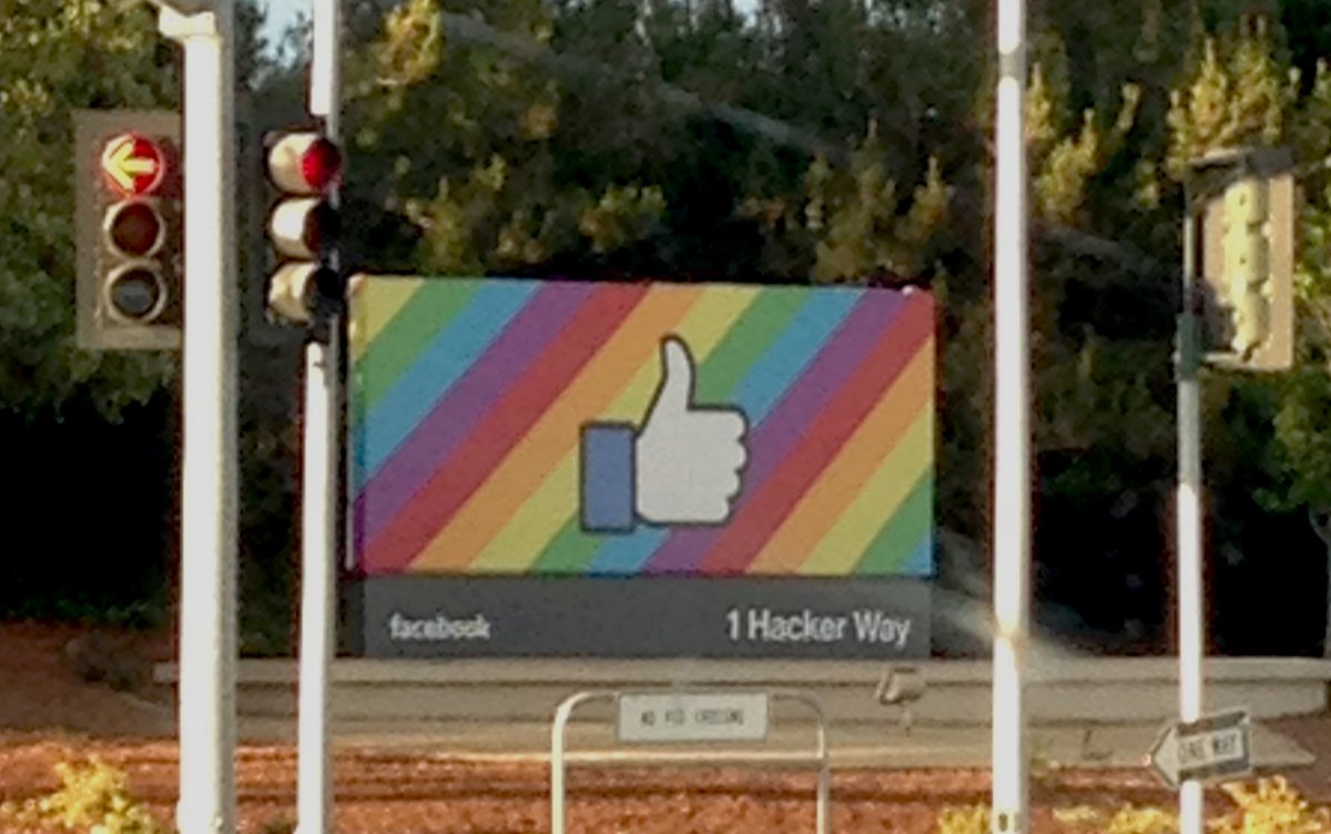Facebook has also long been a proponent of marriage equality and equal rights.