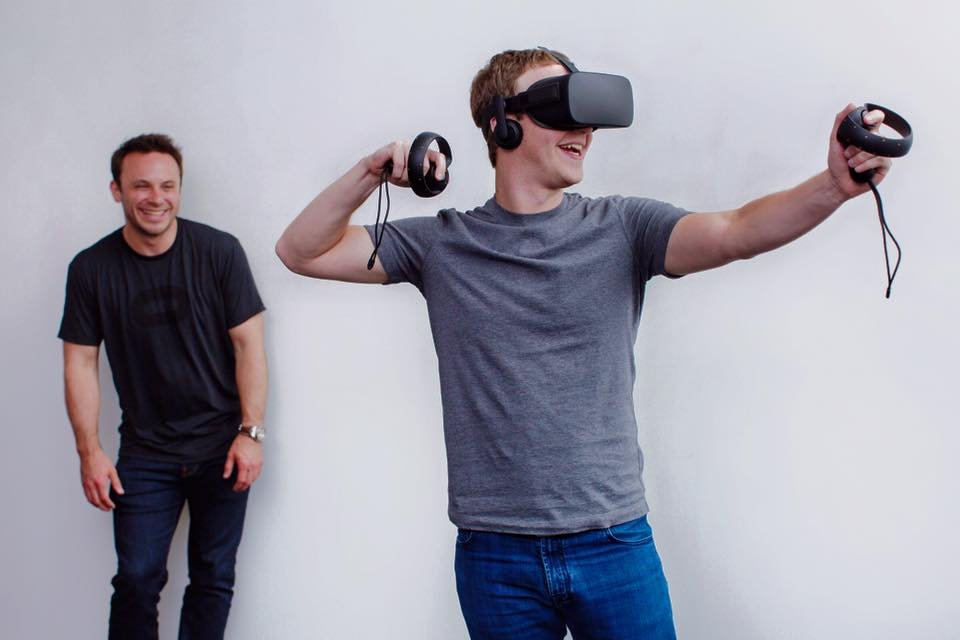... early-stage virtual-reality company Oculus, which Facebook bought in March 2014 for $2 billion; ...