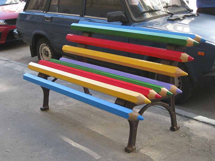 30幾張看到後會吃驚到忘記要坐下的「驚世創意長椅」。