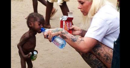 2年前這名男孩「被視為禍根」遭全村拋棄就快餓死路邊,2年後這是他現在的模樣!